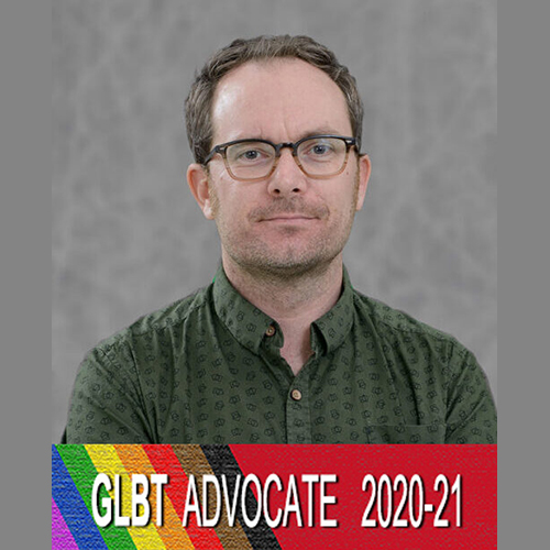 Gavin Williams with GLBT reference