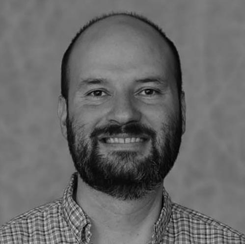 Michael Bereman Headshot in Black and White