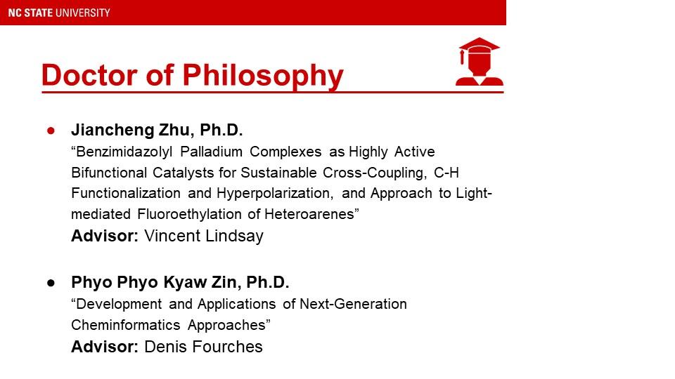 List of Graduate Students