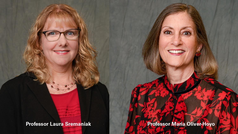 Laura Sremaniak and Maria Oliver-Hoyo Headshots